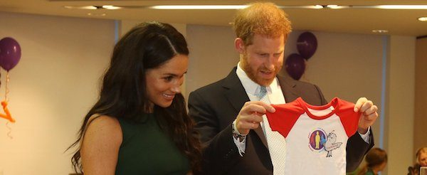 Meghan joins Harry for WellChild Awards