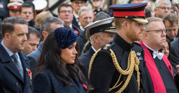 Harry & Meghan attend Field of Remembrance