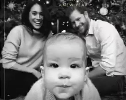 Harry & Meghan release new photo of Archie