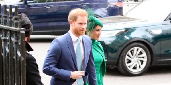 Harry & Meghan attend Commonwealth Day